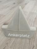 Boot klein mit eigenem Text